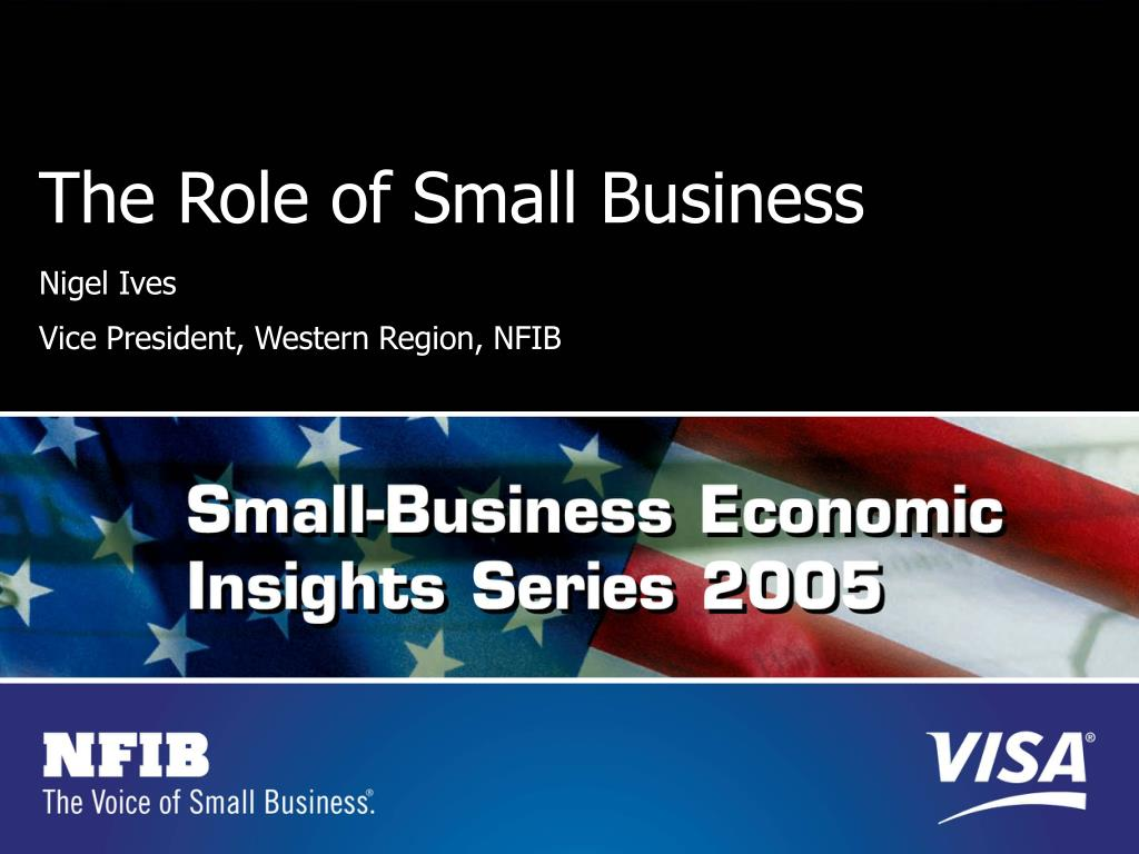 The Role of Small Business