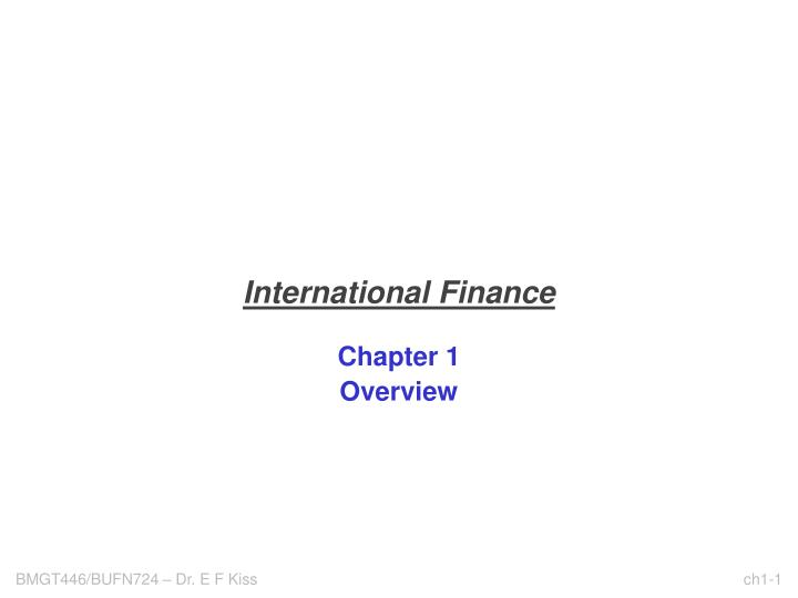 International finance l.jpg