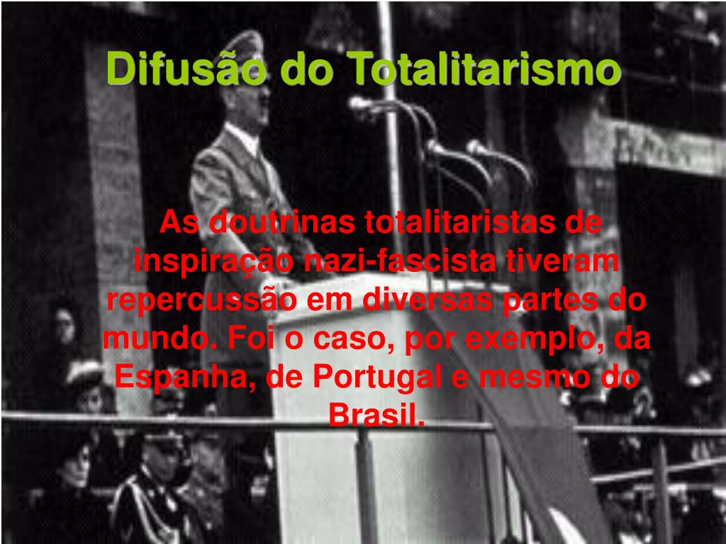 Difusão do Totalitarismo
