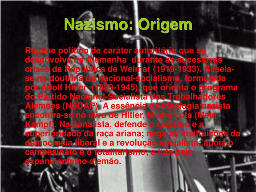 Nazismo: Origem