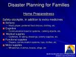 disaster planning for families12