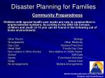disaster planning for families14