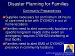 disaster planning for families15