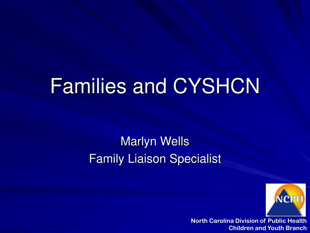 Families and CYSHCN