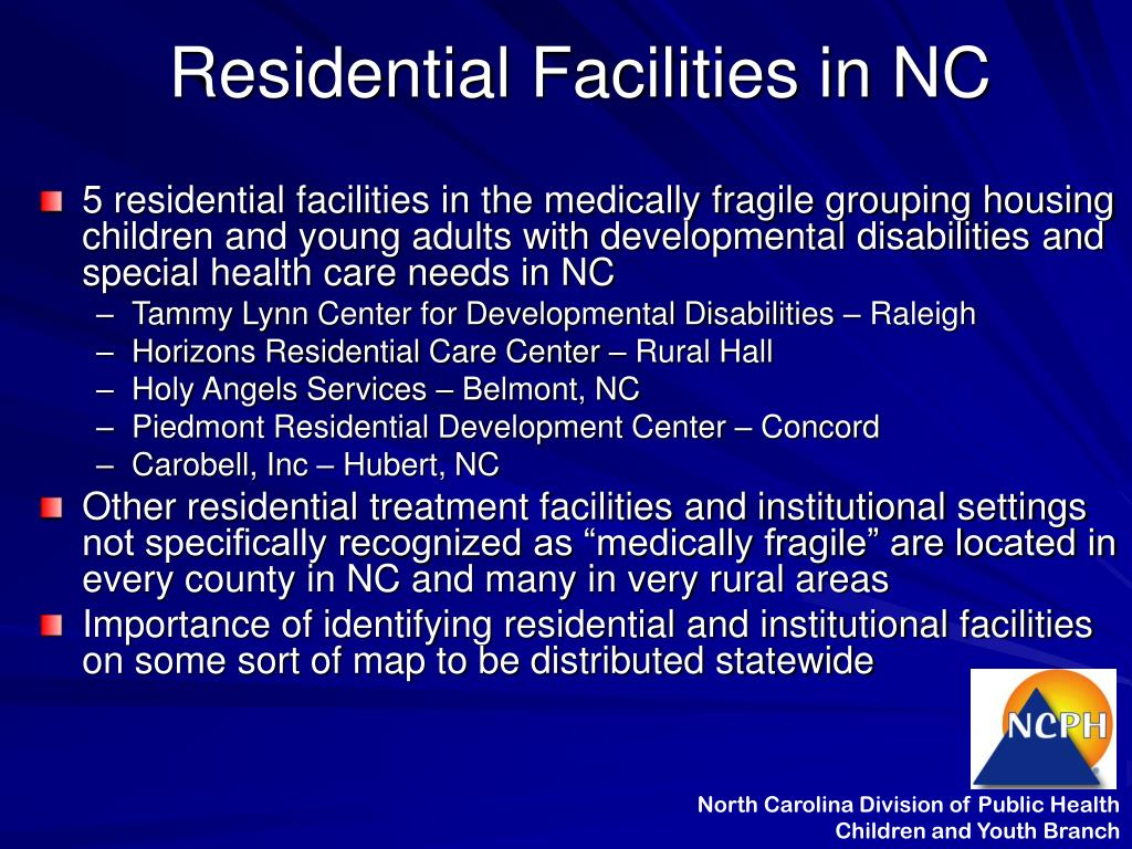 Residential Facilities in NC