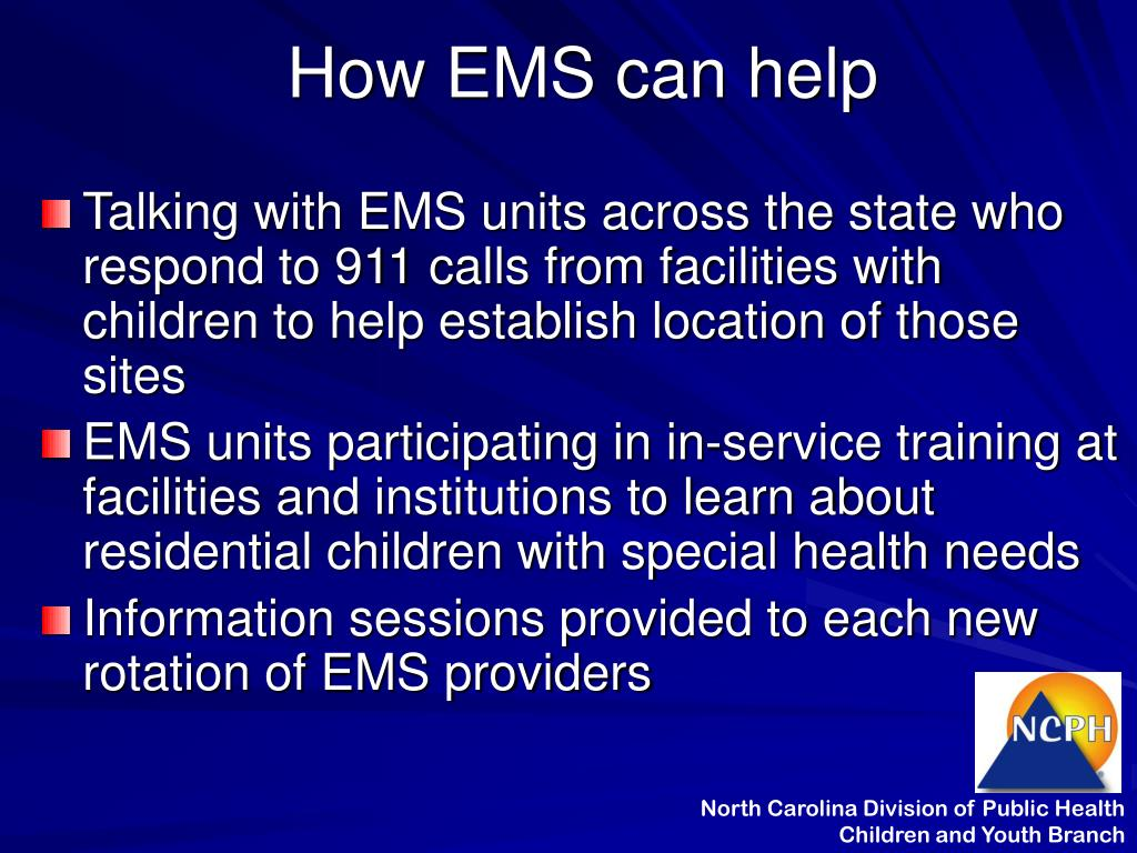 How EMS can help