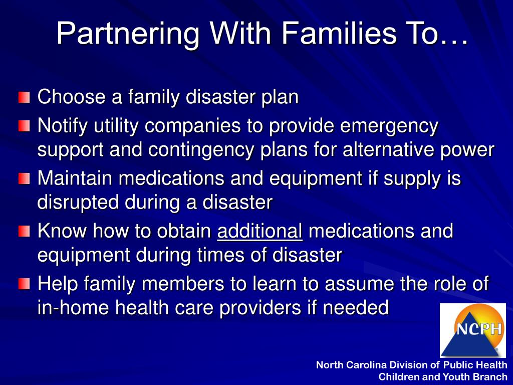 Partnering With Families To…