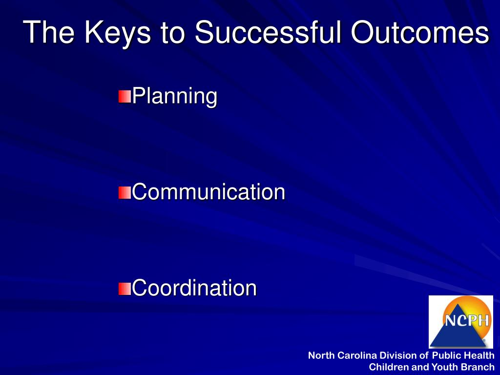 The Keys to Successful Outcomes