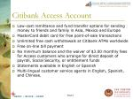 citibank access account