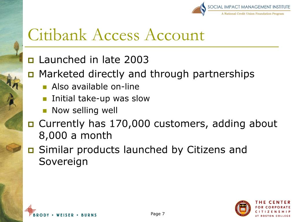 Citibank Access Account