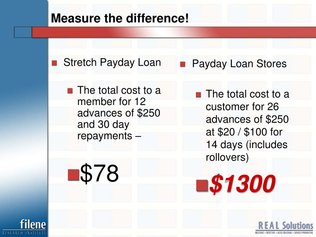 Stretch Payday Loan