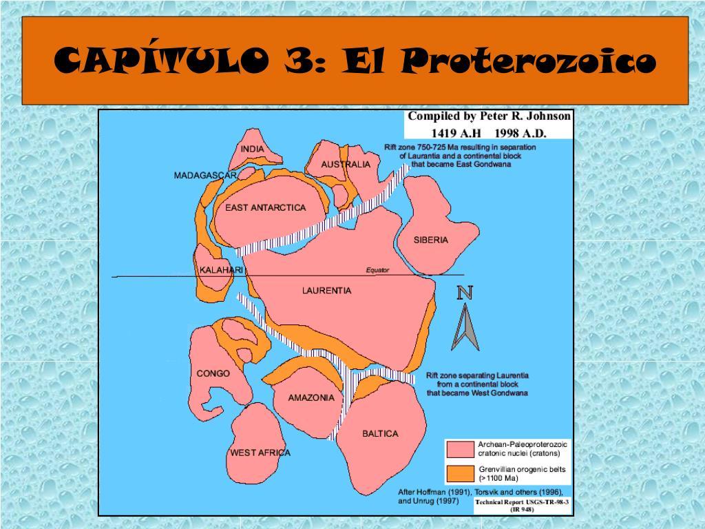 CAPÍTULO 3: El Proterozoico