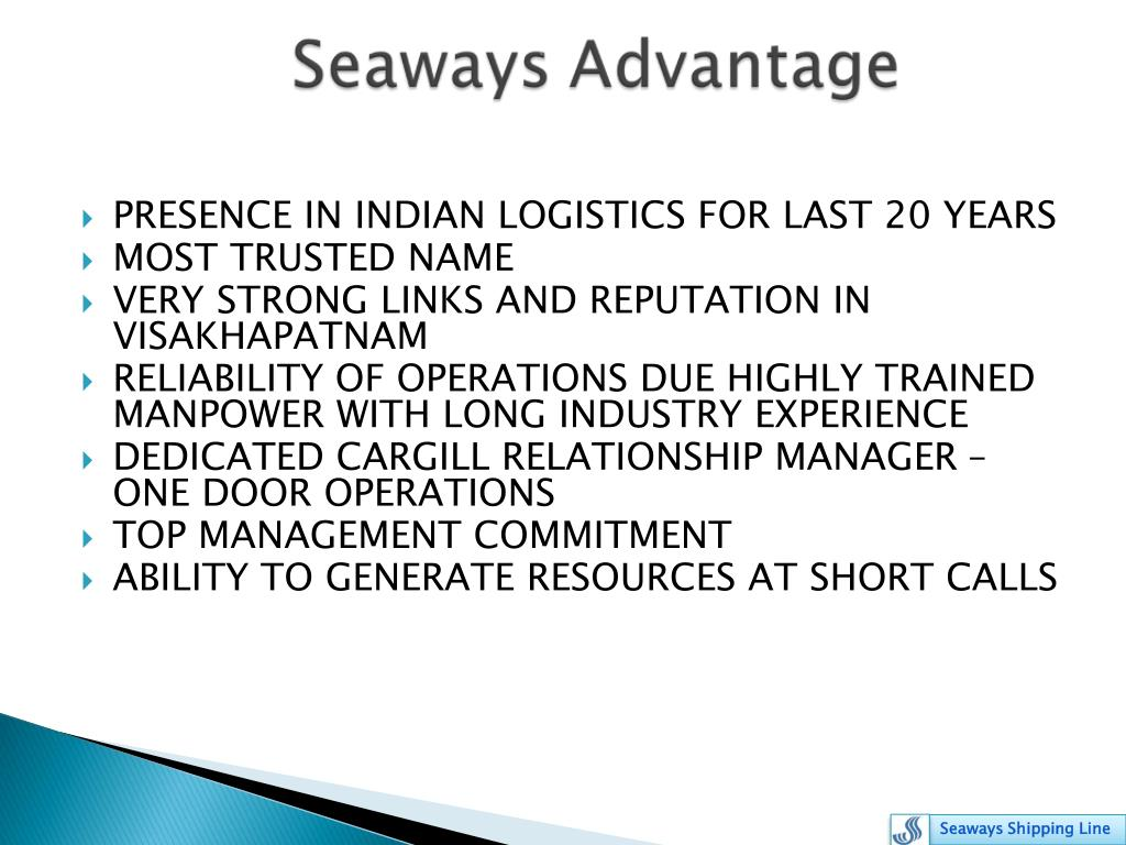 PRESENCE IN INDIAN LOGISTICS FOR LAST 20 YEARS