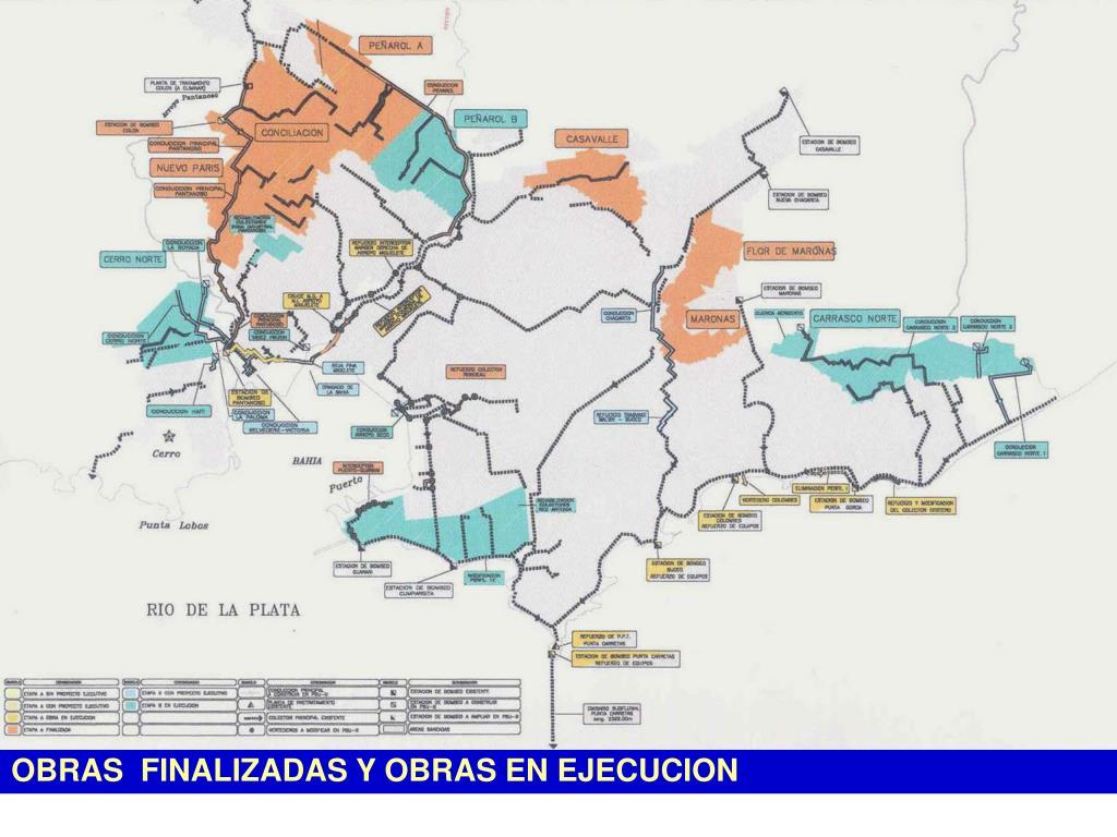 OBRAS  FINALIZADAS Y OBRAS EN EJECUCION