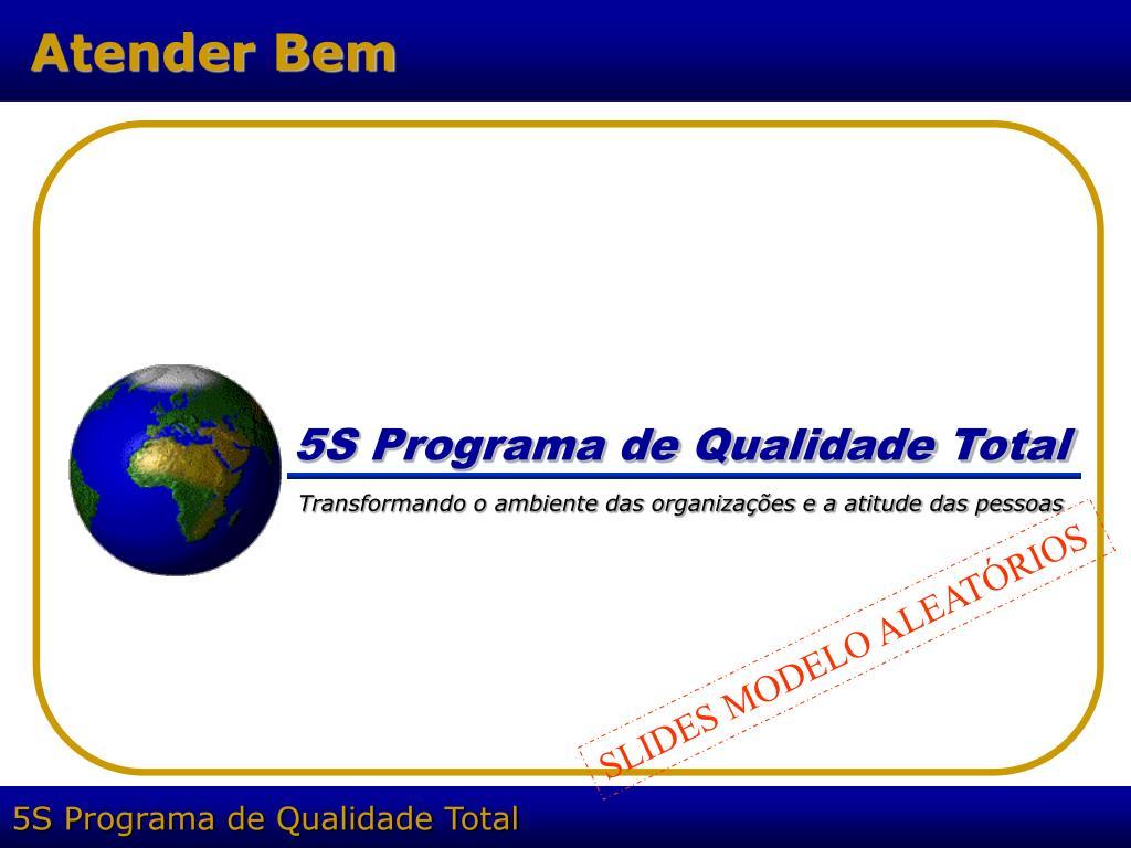 5S Programa de Qualidade Total