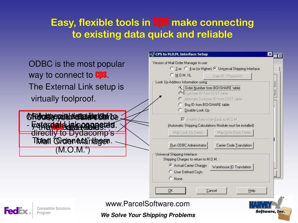 Easy, flexible tools in