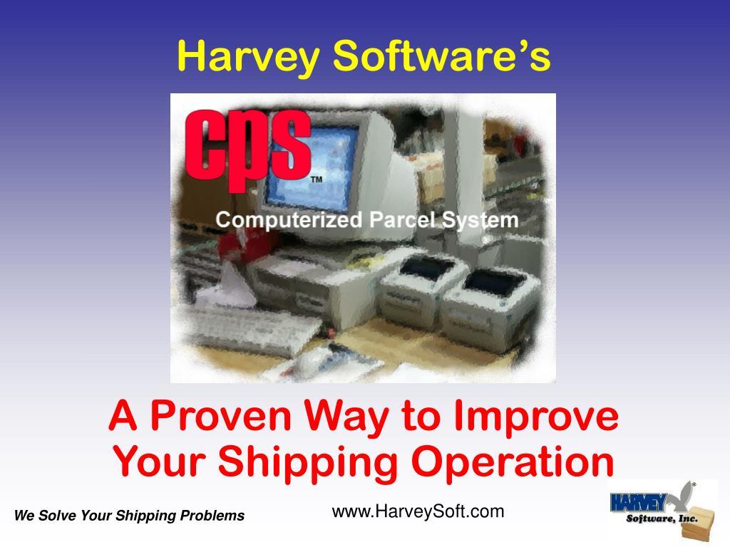 Harvey Software's