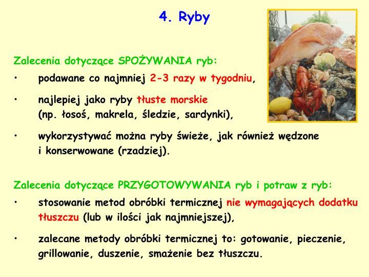 4. Ryby