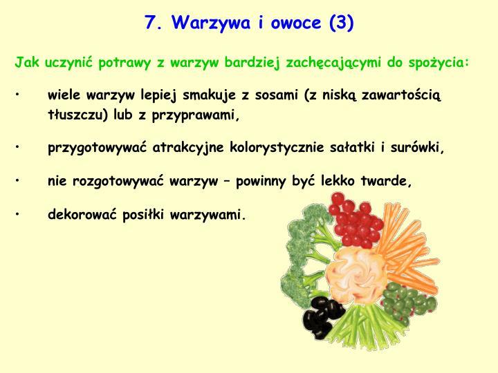 7. Warzywa i owoce (3)