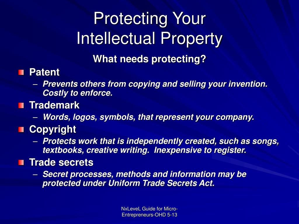 Protecting Your