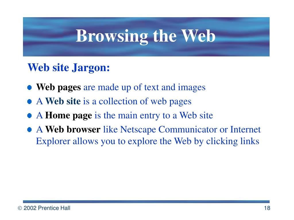Browsing the Web