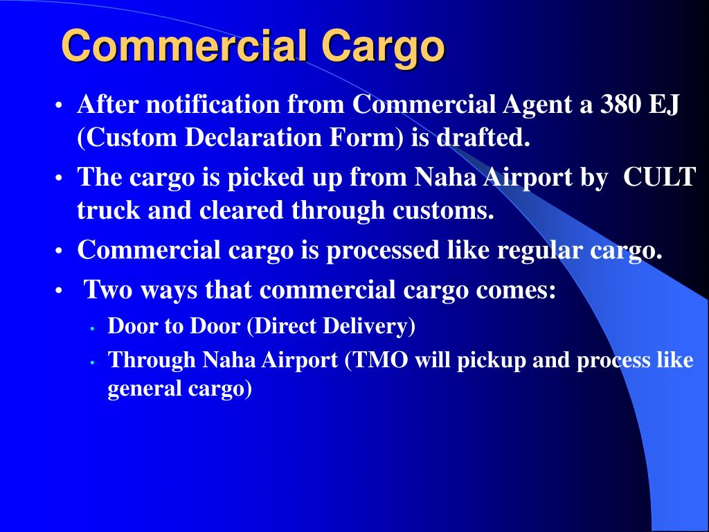 Commercial Cargo