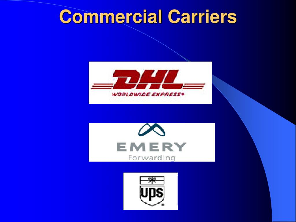 Commercial Carriers
