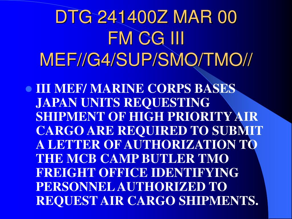 DTG 241400Z MAR 00