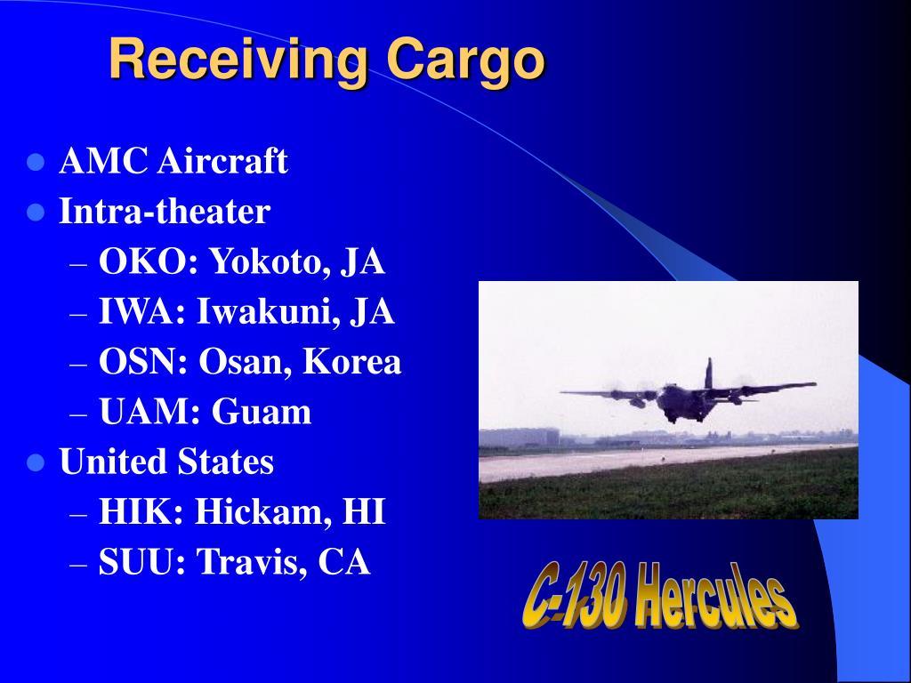 Receiving Cargo