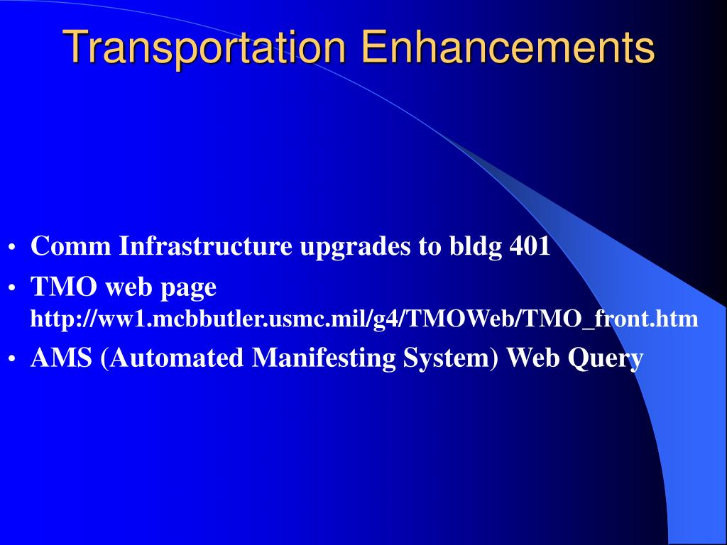 Transportation Enhancements