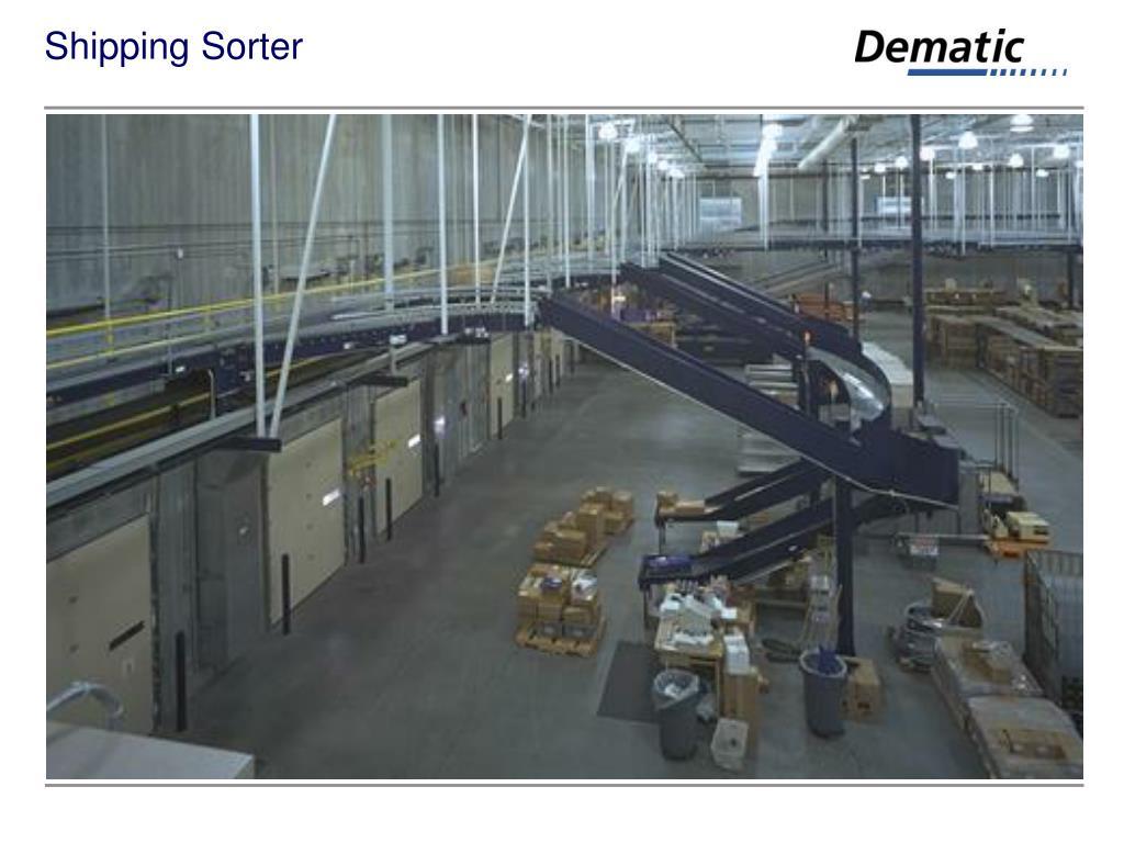 Shipping Sorter
