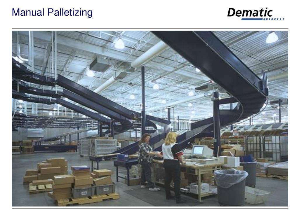 Manual Palletizing