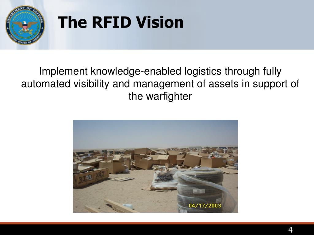 The RFID Vision
