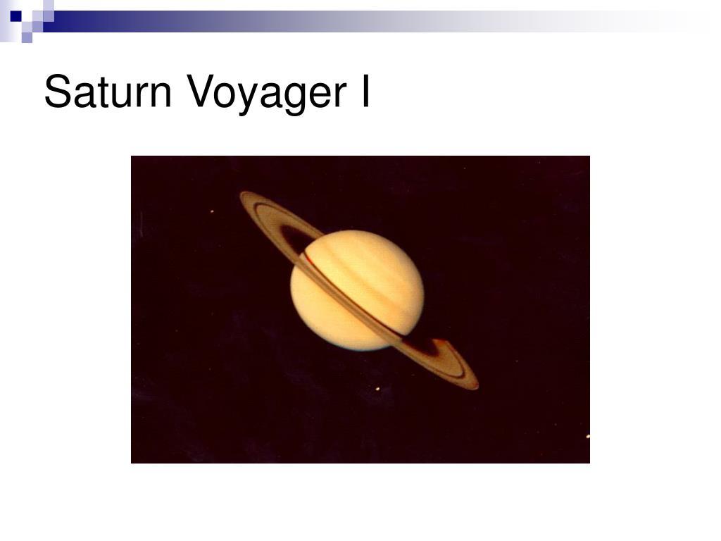 Saturn Voyager I