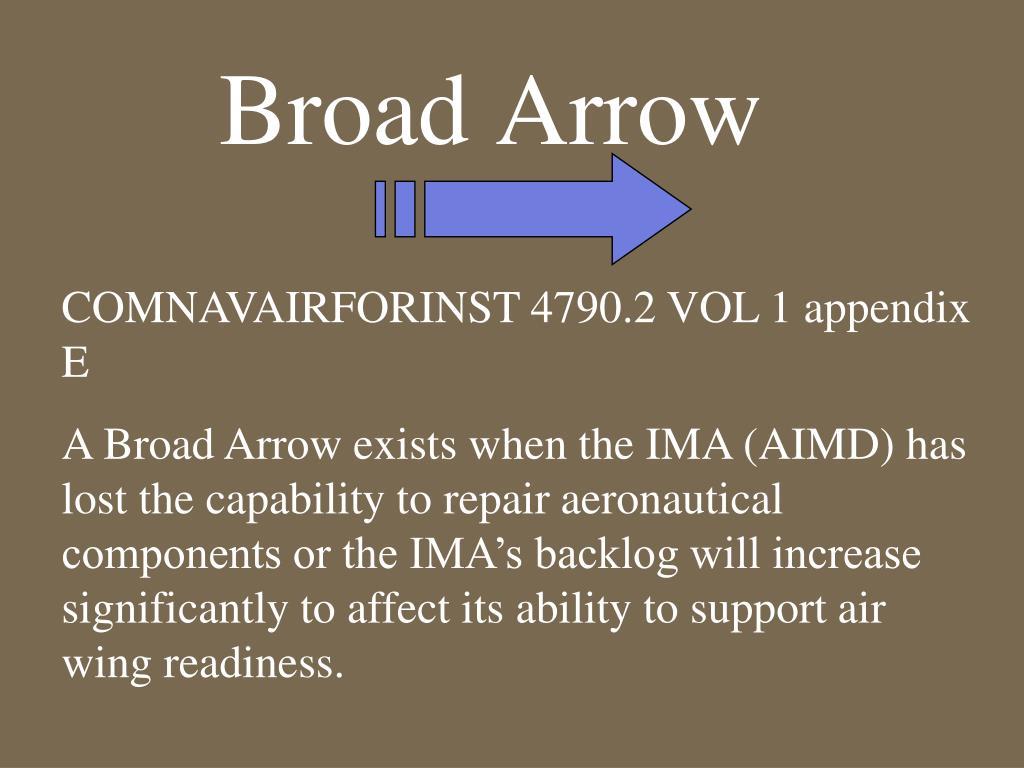 Broad Arrow