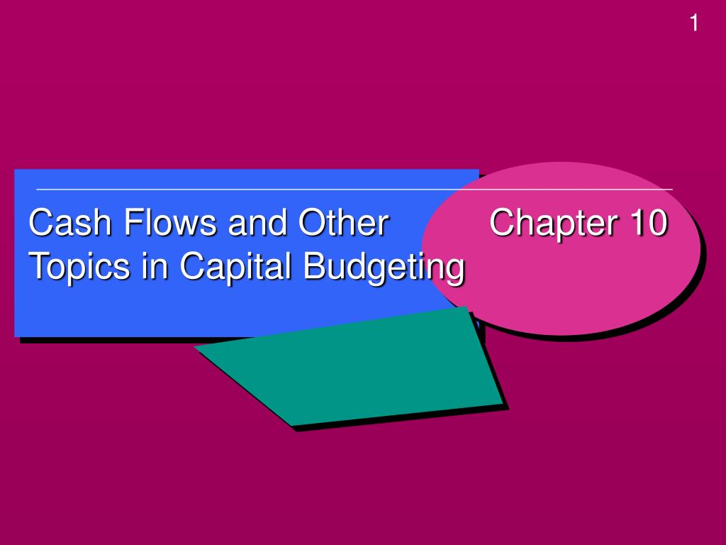 Cash Flows and Other