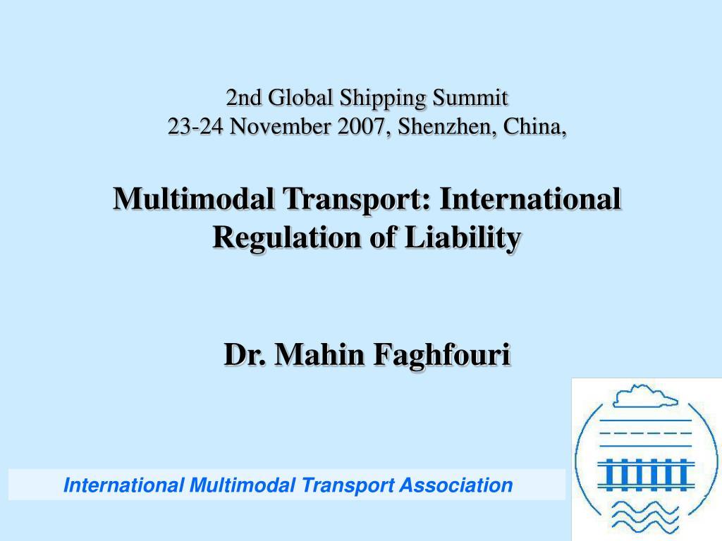 2nd Global Shipping Summit