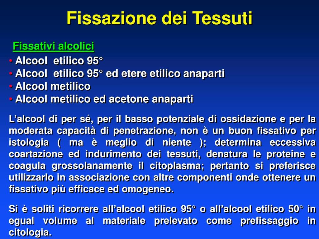 Fissazione dei Tessuti