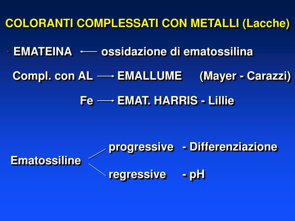 progressive- Differenziazione