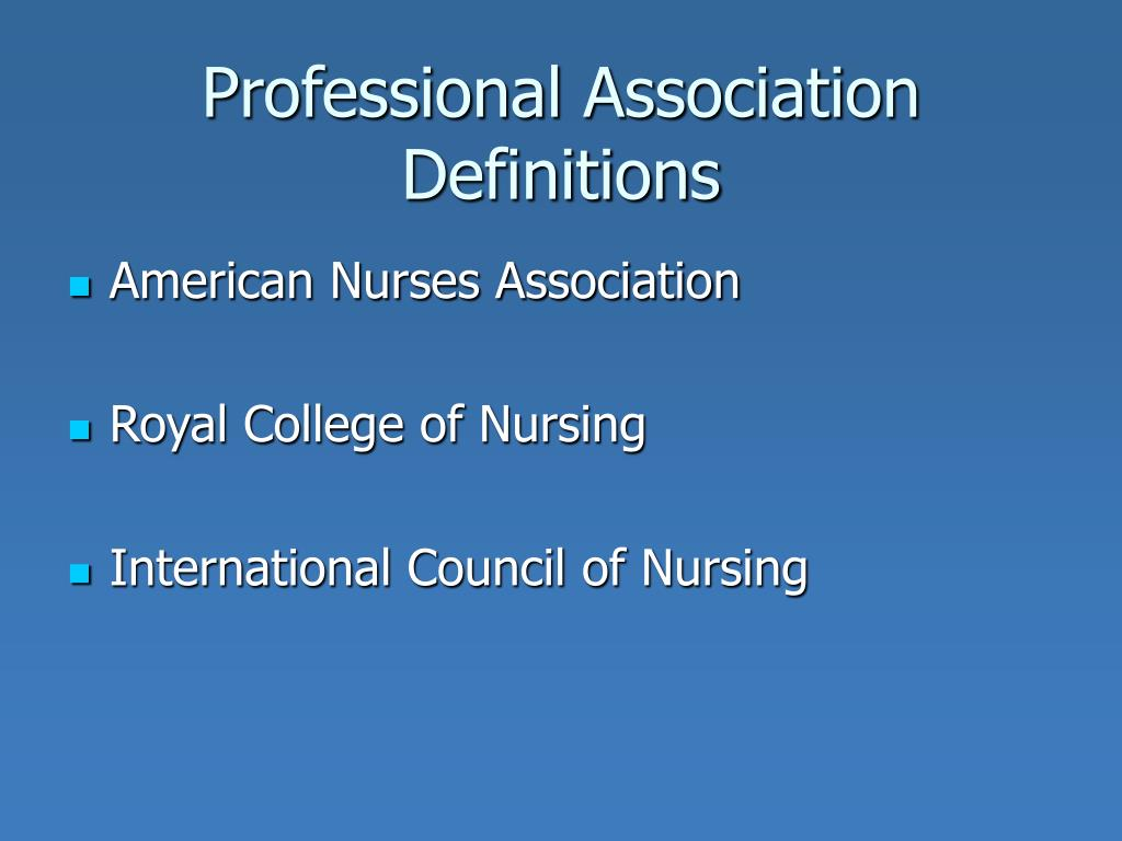 professional association nursing The national association of neonatal nurse practitioners unique workforce and professional practice issues of neonatal association of neonatal nurses.