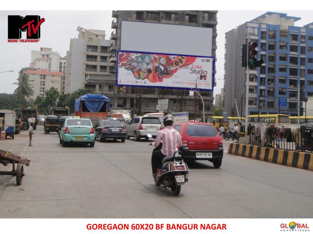 GOREGAON 60X20 BF BANGUR NAGAR
