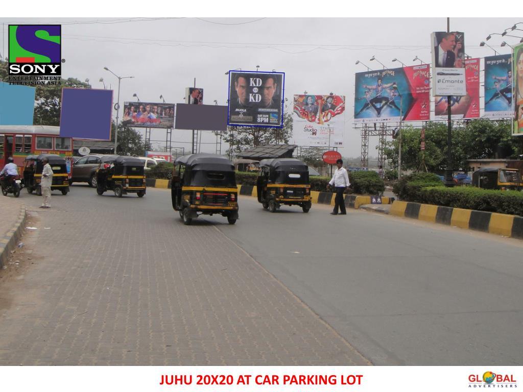 JUHU 20X20 AT CAR PARKING LOT
