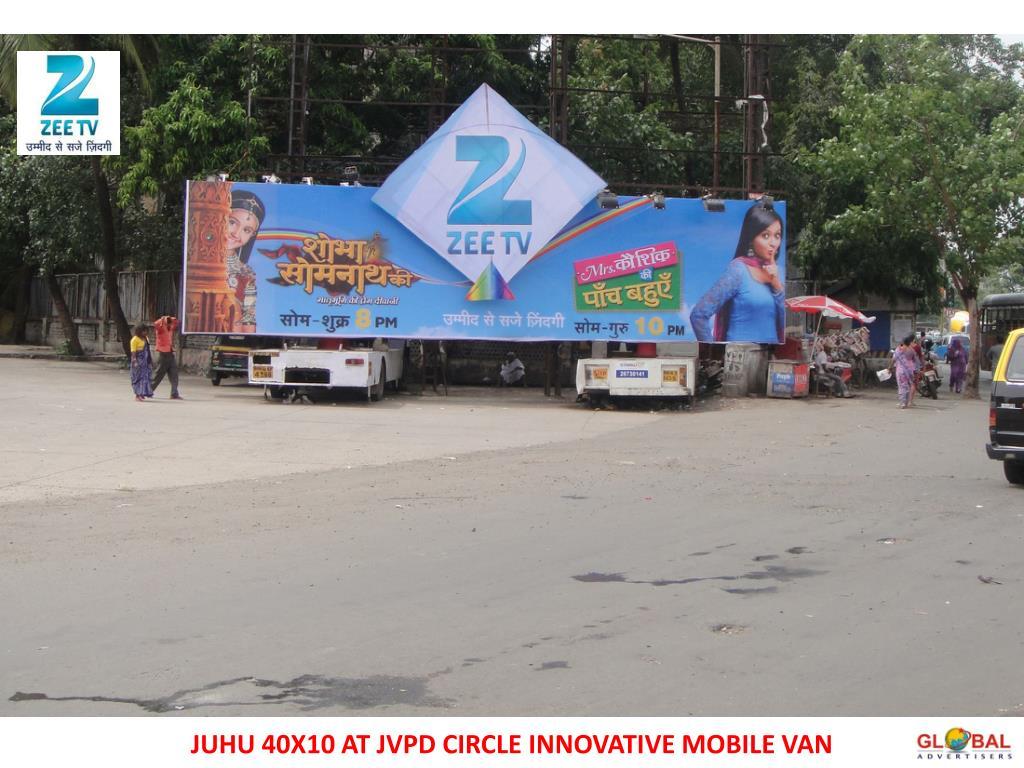 JUHU 40X10 AT JVPD CIRCLE INNOVATIVE MOBILE VAN