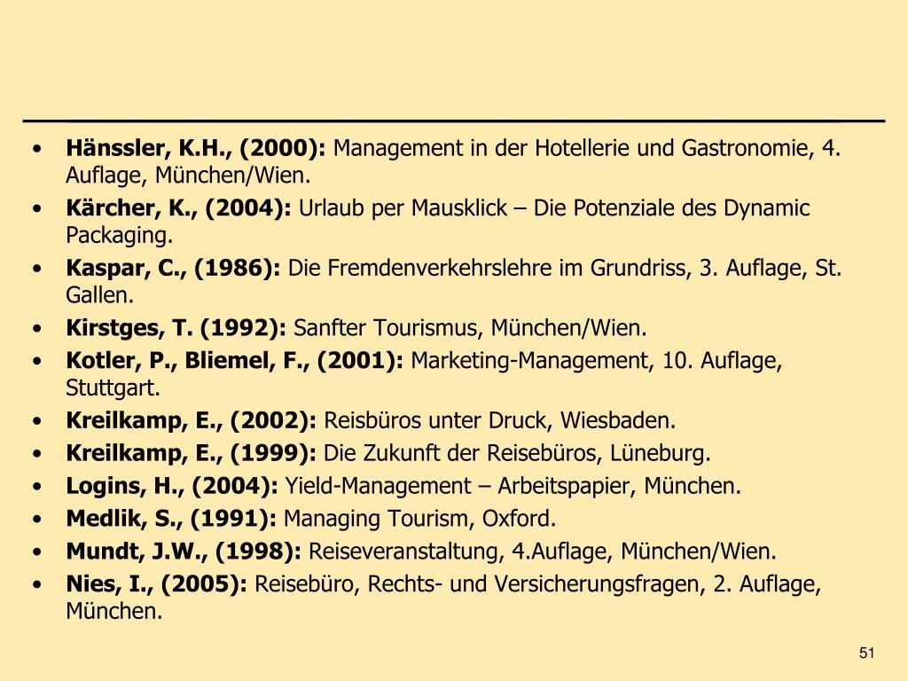 Hänssler, K.H., (2000):
