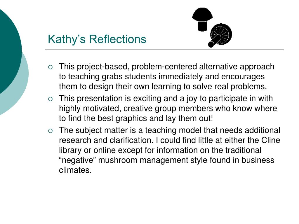 Kathy's Reflections
