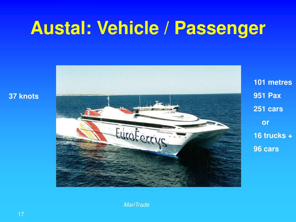 Austal: Vehicle / Passenger
