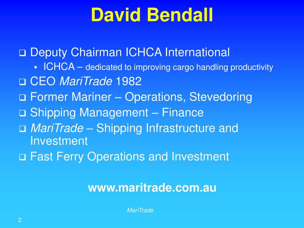 David Bendall
