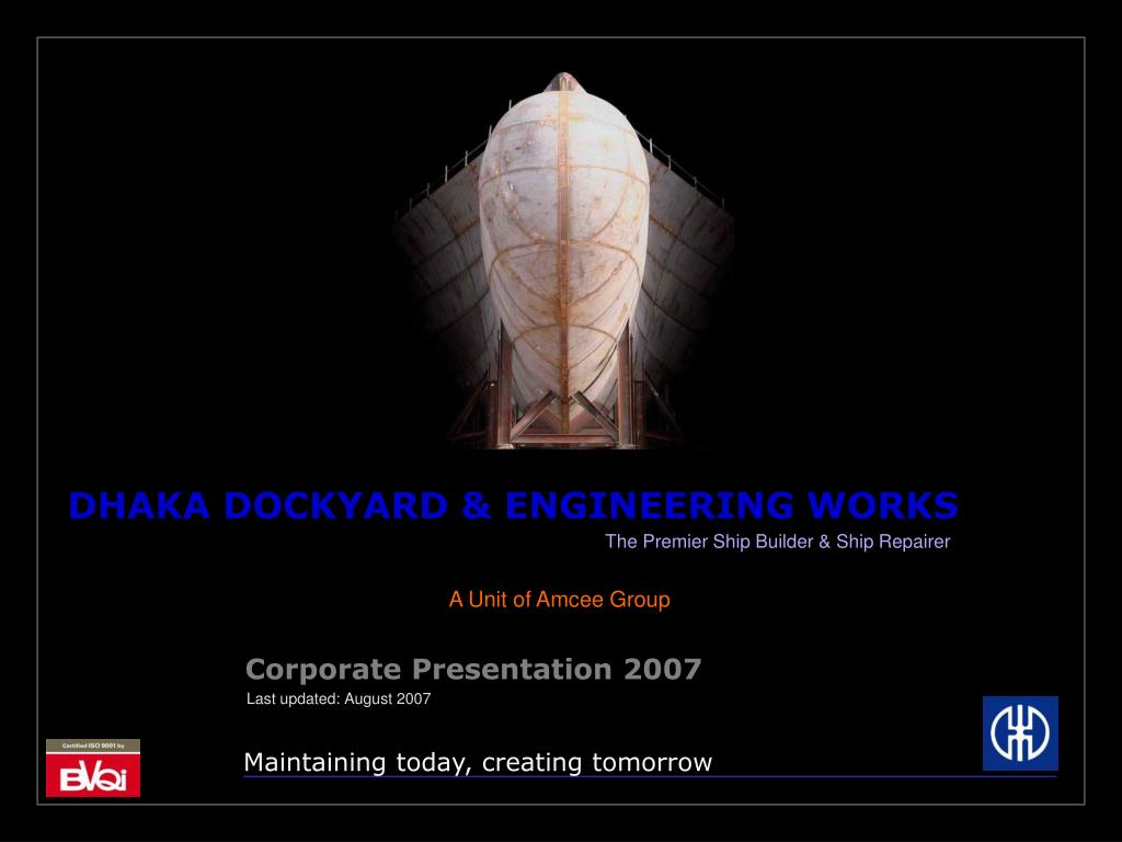 DHAKA DOCKYARD & ENGINEERING WORKS