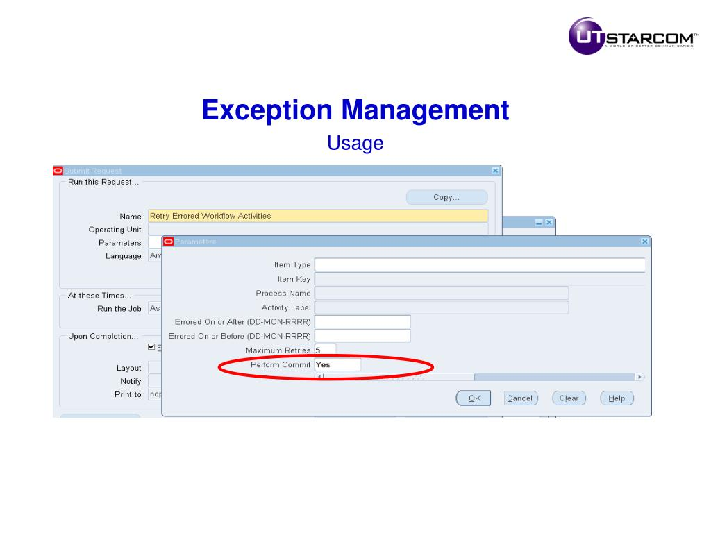 Exception Management