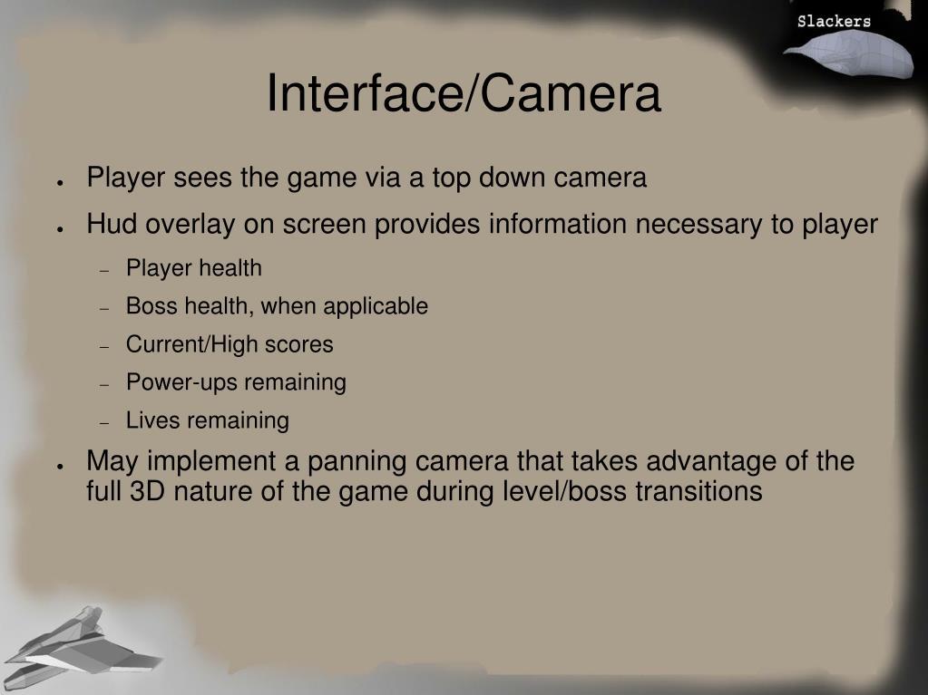 Interface/Camera